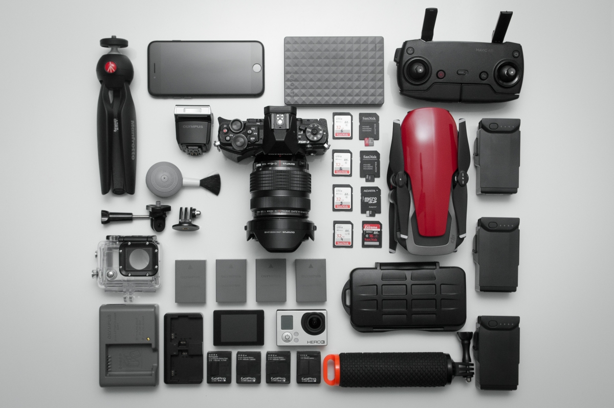 WHAT'S IN YOUR CAMERA BAG? #1