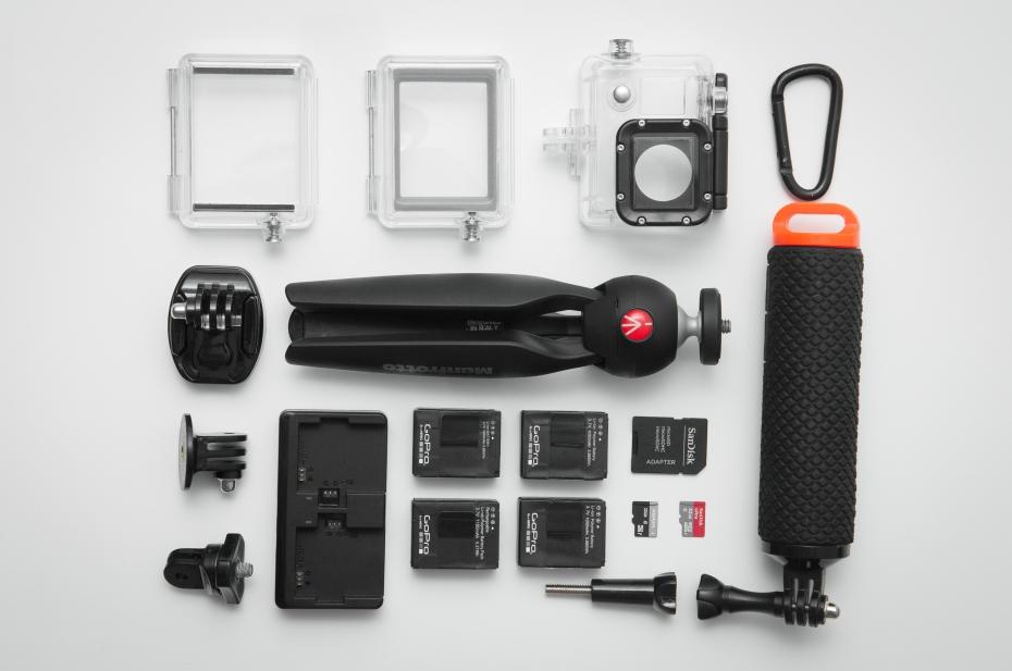 GoPro Hero 3 accesories