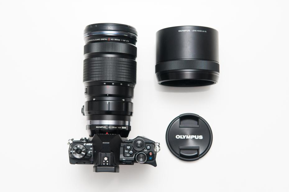 Olympus M.Zuiko 40-150mm f2.8 PRO lens