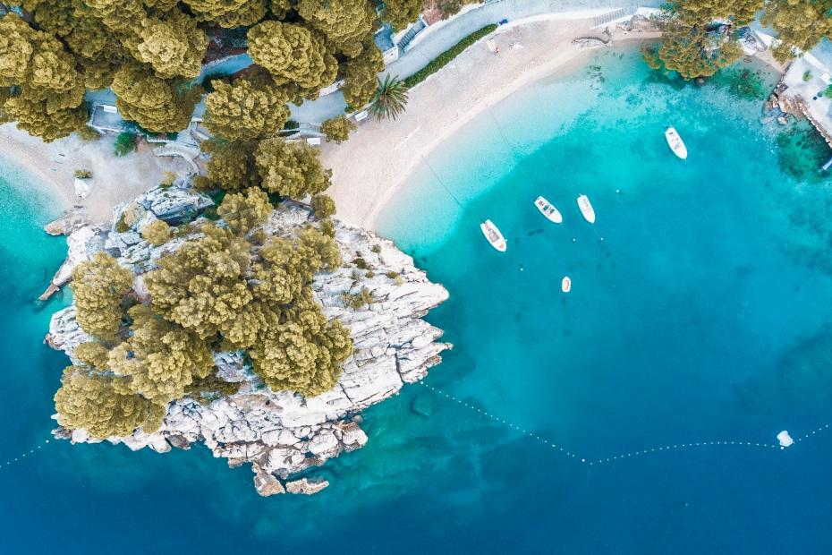 Latanie dronem w Chorwacji